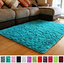 Best bright blue rug Reviews