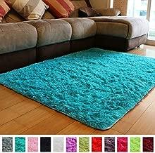 Best bright blue rug Reviews