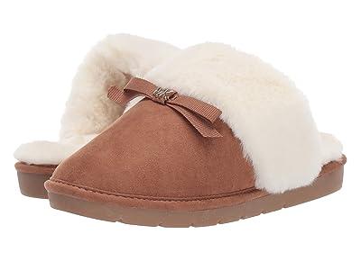 MICHAEL Michael Kors Kids Margot Silvy (Little Kid/Big Kid) (Caramel) Girls Shoes