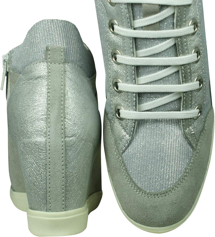 Viento fuerte Intolerable mosquito  Amazon.com | Geox Women's Hi-Top Trainers, 8.5 us | Shoes