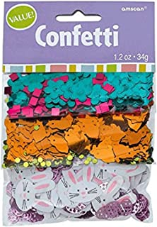 Amscan 360590 Easter Basic Multicolored Paper Confetti Mix | 1 pack | Party Decoration