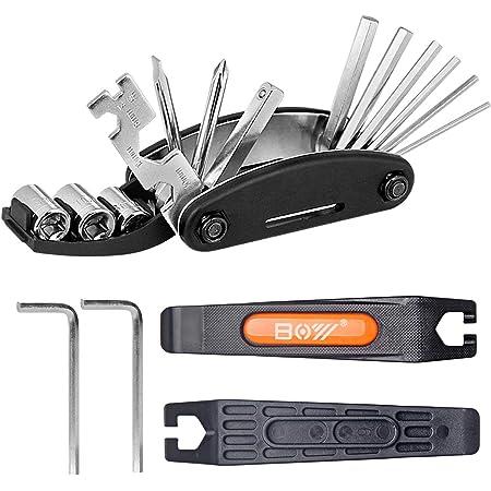 Venzo 19 in 1 Bicycle Bike Portable Mini Multi Repair Tools Kit