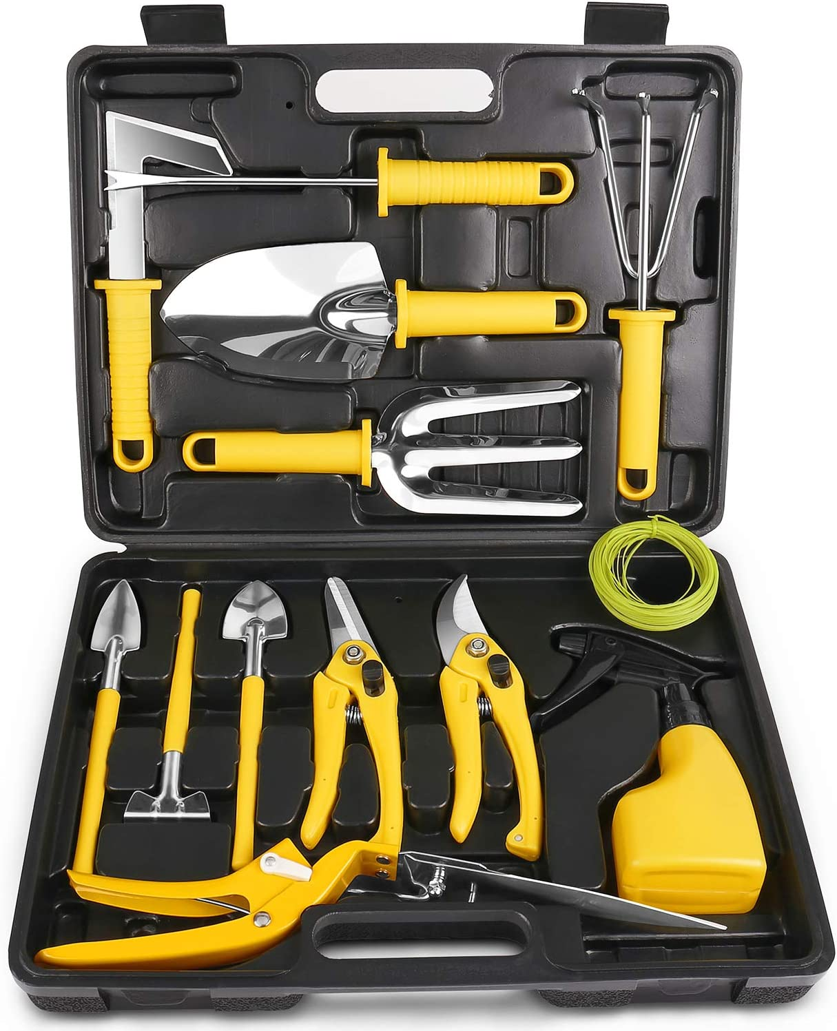 MOSFiATA Garden Tools Set Max 68% Special Campaign OFF 14 Pcs Tool Steel Stainless Kit