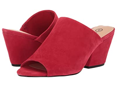 Bella-Vita Kathy (Red Suede Leather) Women