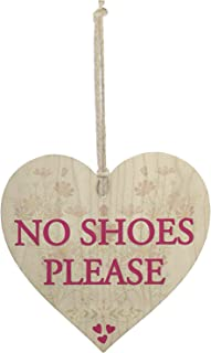 Meijiafei No Shoes Please Remove Trainers Home Carpet Gift Hanging Plaque High Heels Sign