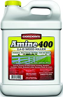 Gordon's Pbi 8141122 Amine 400 Weed Killer, 2,4-D, 2.5-Gal. Concentrate - Quantity 2