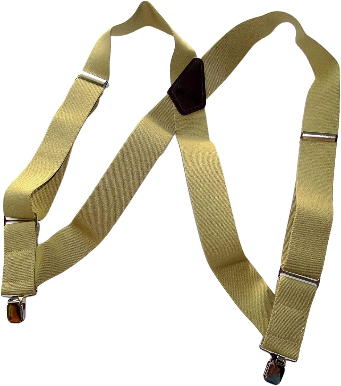 HoldUp 2 Hipclip Trucker Style Suspenders (Tan)