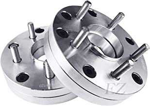 EZAccessory 2 Wheel Adapters 4x100 to 5x120 Thickness 1.5 inch with 72.56mm Hub Centric Lip