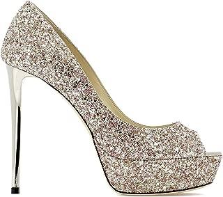 JIMMY CHOO Luxury Fashion Womens JEANETTE120AGHROSEO Pink Pumps | Season Permanent