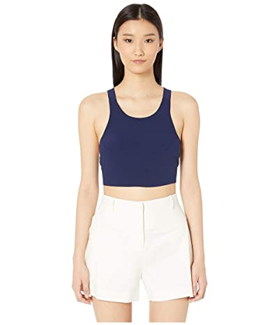 FLAGPOLE Kate Crop Top (North Navy) Women