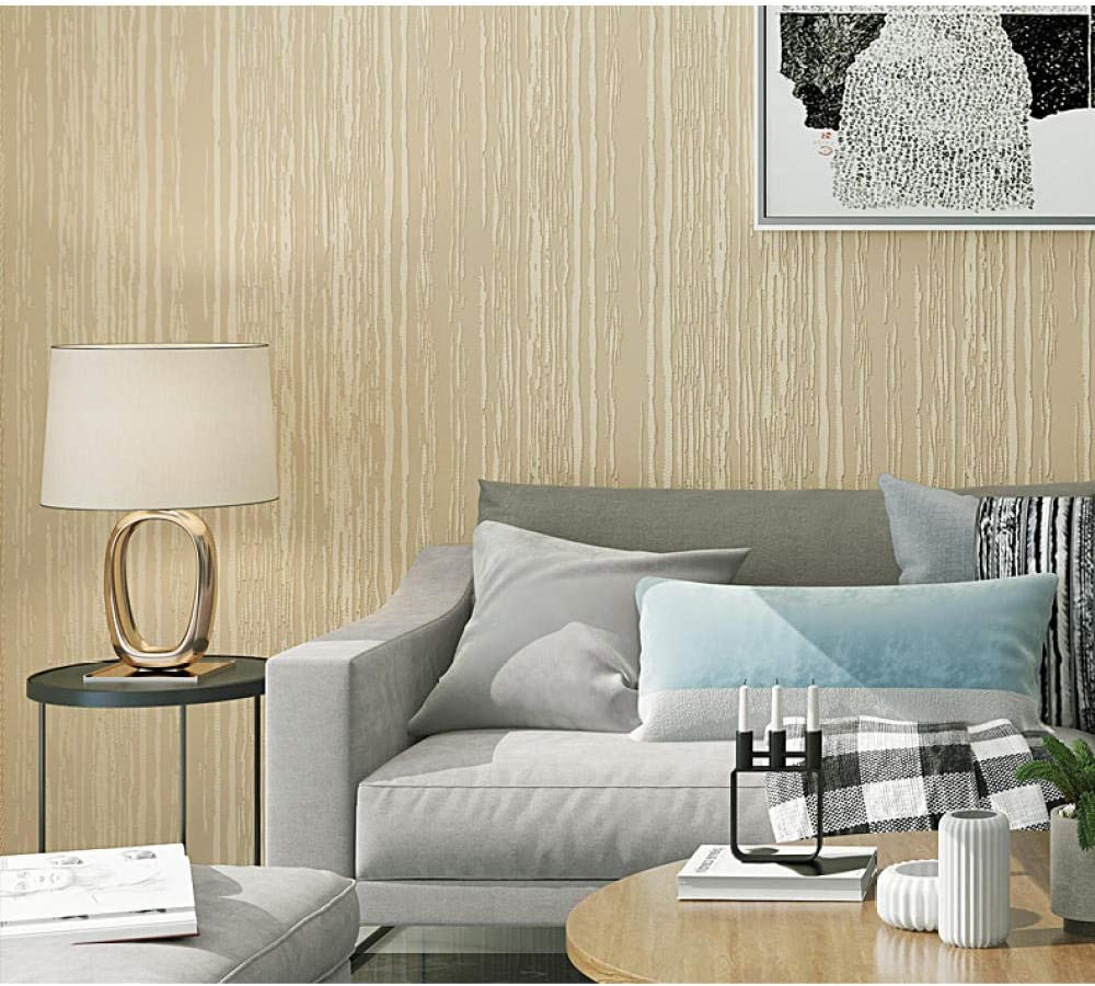 Wallpaper Roll Stripes 3D Popular standard Room Embossed Bedroom Living Max 54% OFF