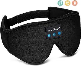 MUSICOZY Sleep Headphones Bluetooth Wireless Sleeping Eye Mask, Office Travel Unisex Birthday Gifts Men Women Who Have Eve...
