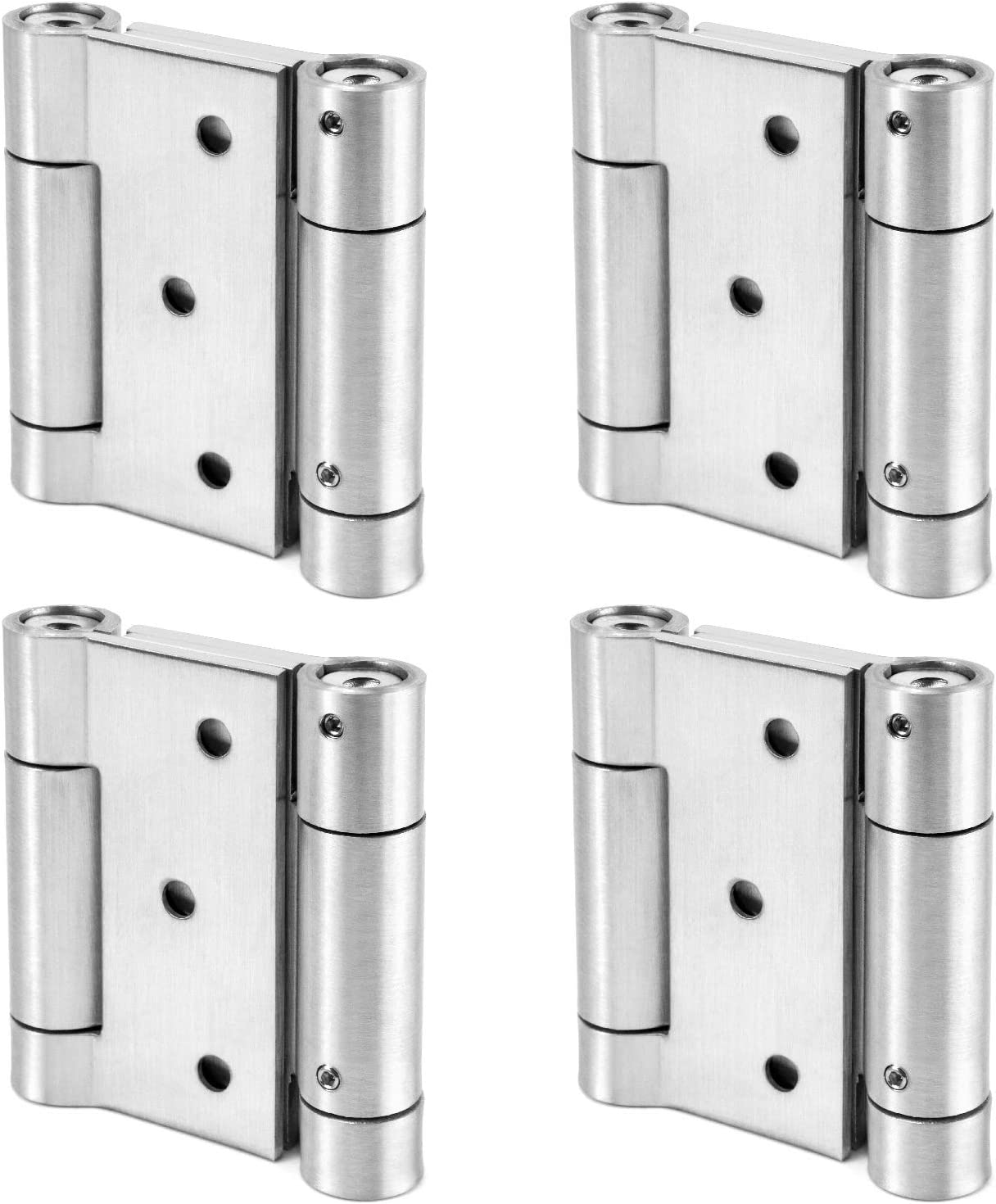 QWORK Double Action Spring Special price for a limited time Door Steel Loade Stainless 304 Hinge lowest price