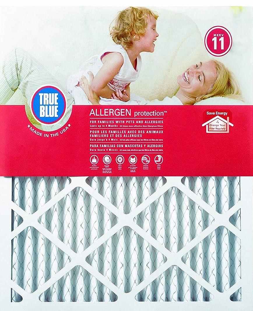 True Blue Allergen 20x25x1 Air Filter , MERV 11, 4-Pack