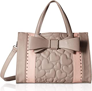 Betsey Johnson Women's Quilted Bow Satchel