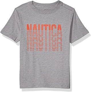 Nautica boys High Density Screen Print Graphic Tee Shirt