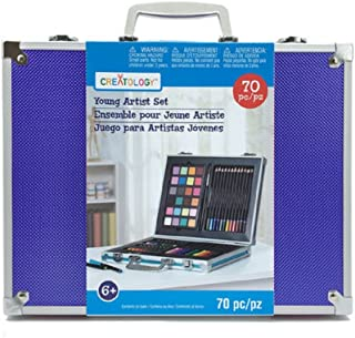 Creatology Young Artist 70 Piece Set With Metal Trim Case