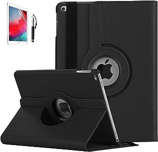 iPad 9.7 2018/2017ケース FamGift 軽量 薄型 レザー 360度回転式 ド オートスリープ機能 スマートカバー 2017年と2018年発売の9.7インチ iPad 対応(モデル番号A1822、A1823、A1893、A1...