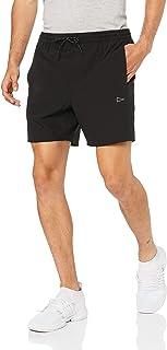 "SQDAthletica Men SQD 6"" Running Short with Inner, Black"