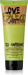 TIGI Love, Peace and The Planet Eco Awesome Conditioner, Cranberry Orange Mint, 200ml