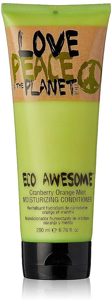 食い違いリハーサル不運TIGI Love Peace and The Planet Eco Awesome Cranberry Orange Mint Moisturizing Conditioner 200 ml (並行輸入品)