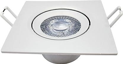 Spot Quadrado 5W, LED Embutir Bivolt, 6500K Branco Frio,Avant