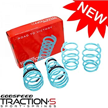 F56 HATCHBACK 2007-14 LS-TS-MC-0004-A Traction-S Performance Lowering Springs for Cooper//Cooper S