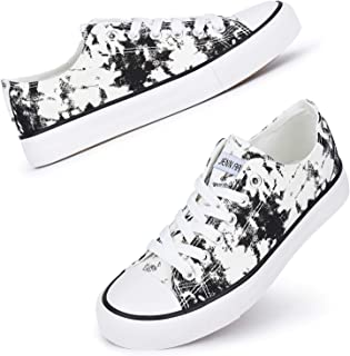 Women's Canvas Low Top Sneakers Classic Lace-up Casual...