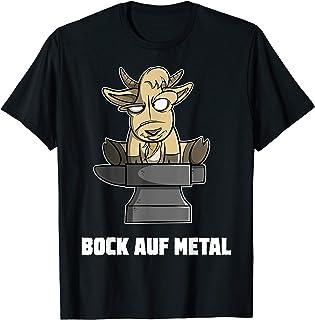 Bock auf Metal - Heavy Metal Musik Spruch Geschenk Humor Fun T-Shirt