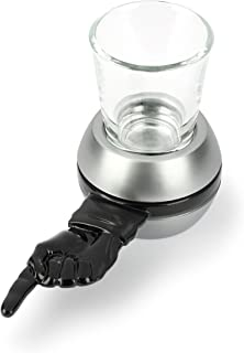 Barbuzzo Retro Spin the Shot Game - The Drinking Game Where Everybody Wins - Let the Spin Decide Your Fate - Great Gift for Home Entertaining, Parties, Tailgates, & Celebrations