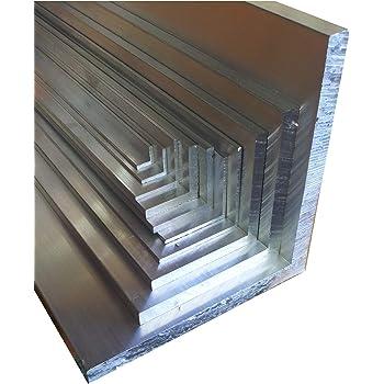4 Stck. /á 150 cm 600 cm Aluwinkel 60 x 40 x 6 mm Winkelprofil ungleichschenklig Alu Winkel Aluprofil Aluminiumprofil L Profil aus Aluminium