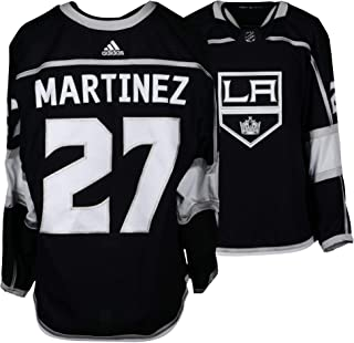 Alec Martinez Los Angeles Kings Game-Used  27 Black Jersey from the 2017- 9fcf68b5f