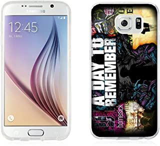 A DAY TO REMEMBER for Samsung Galaxy S6 Edge White case