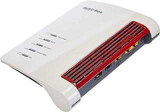 AVM 20002960 FRITZ!Box 5530 Fiber (glasvezelmodem met 2 x 2 Wi-Fi 6 (WLAN AX), tot 3 GBit/s, 2,5 GHz LAN-poort, geschikt v...
