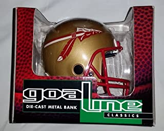 1996 Goal Line Classics Florida State Seminoles Die-cast Metal Mini Helmet Bank