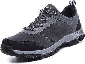 Mens Waterdichte Schoenen - Lichtgewicht Hiking Boots, Groot Formaat Low-Top Outdoor Wandelschoenen Ademende Kamperen Wand...