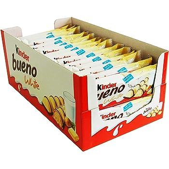 30 Kinder Bueno Doppelriegel White a 39g frisch Ferrero Riegel limeted Edition