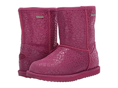 EMU Australia Kids Leopard Brumby (Toddler/Little Kid/Big Kid) (Berry) Girls Shoes