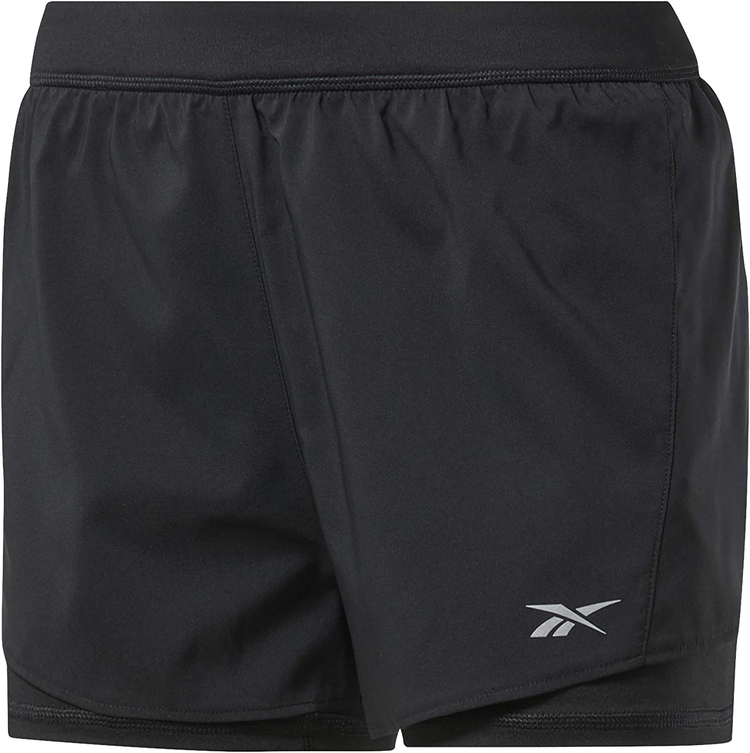 Reebok Women's Running OFFicial mail order 2-in-1 Short Be super welcome