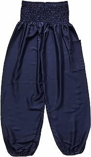 Love Quality Ladies Baggy Harem Pants One Size Plain Colour