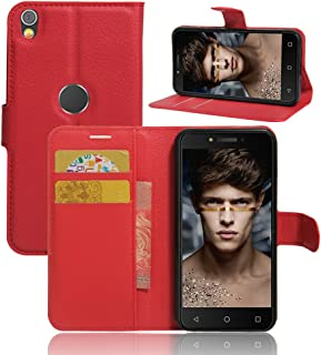 Alcatel Shine Lite Wallet Case, Premium PU Leather Flip Folio Wallet Case with Card Slot, Stand Holder and Magnetic Closur...