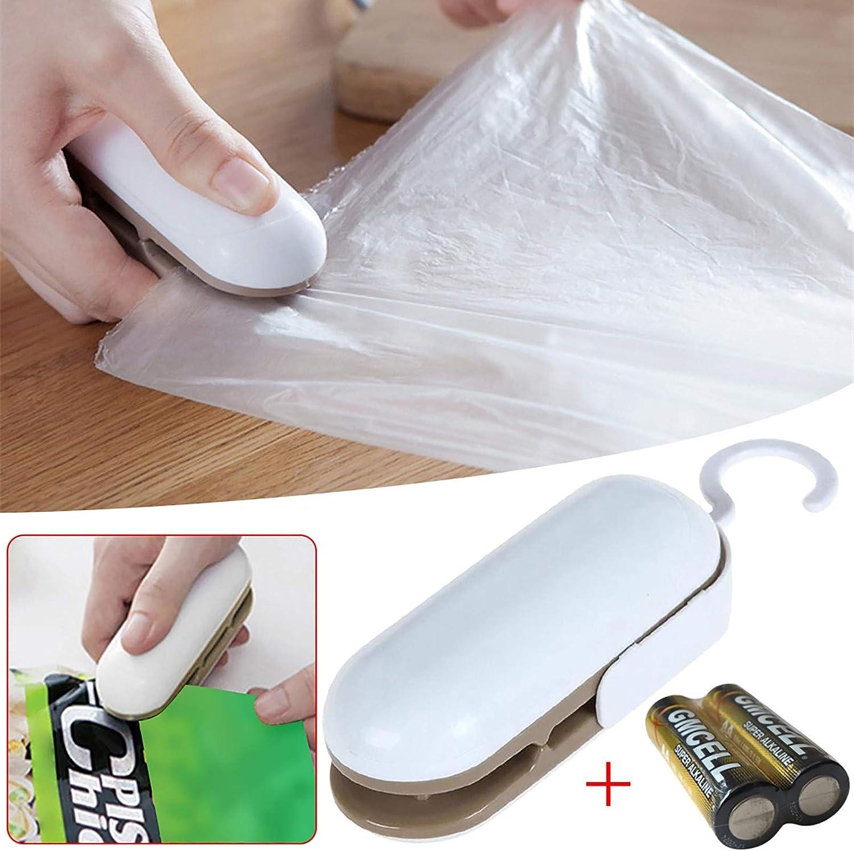 Mini Heat Sealing Machine Portable Sealing Household Machine Heat Bag Sealer Hand Sealing Machine A