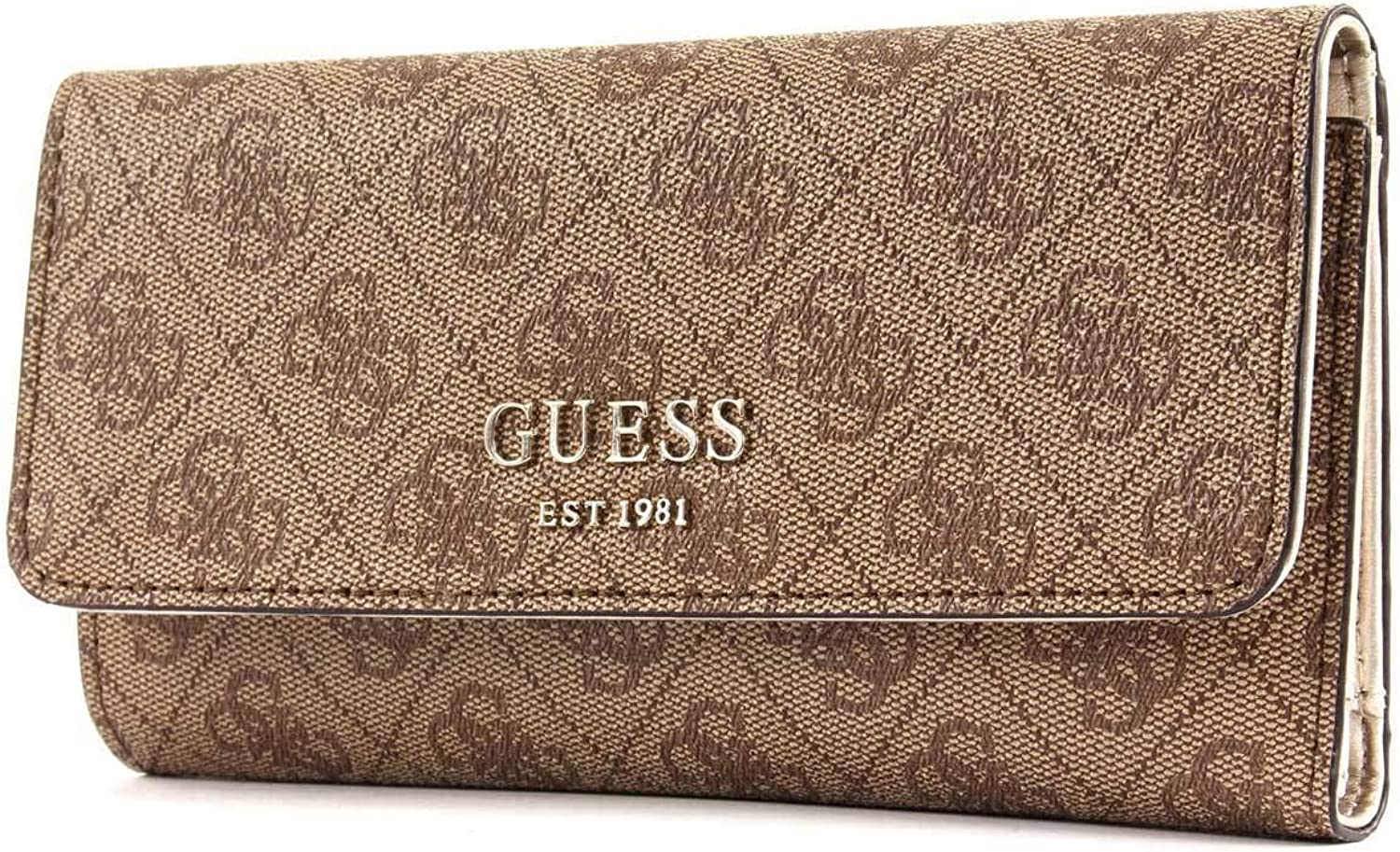 Guess Kathryn SLG Women Synthetic Bag In Brown