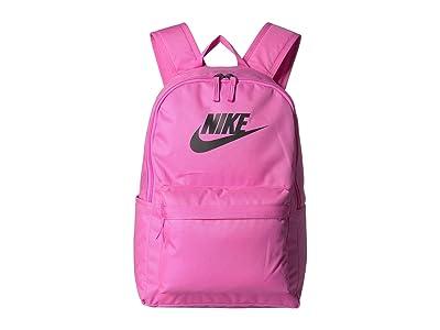 Nike Heritage Backpack 2.0 (China Rose/China Rose/Black) Backpack Bags