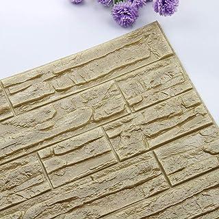 BaZhaHei-Wallpaper Bazhahei DIY 3D del ladrillo Pe espuma