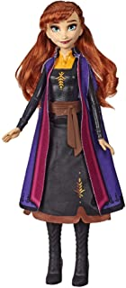 Disney Frozen Anna Autumn Swirling Adventure Fashion Doll That Lights Up, Inspired by The Frozen 2 Movie - Toy for Kids 3 Years Old & Up
