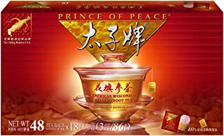 Prince of Peace®American Ginseng Root Tea, Gift Box (48 sachets)