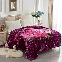 Heavy Korean Mink Fleece Blanket – 2 Ply Reversible 520GSM Silky Soft Plush Warm Blanket For Autumn Winter