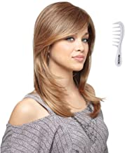 BRANDI Monofilament Wig #2503 Amore Collection by Rene of Paris, Bundle - 2 items: Wig and Wig Lift Comb (Color Selected: CHESTNUT)