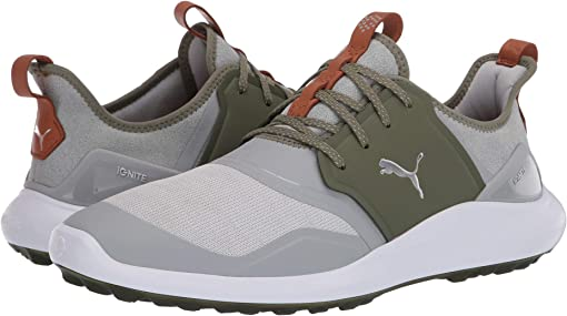 High-Rise/Puma Silver/Deep Lichen Green
